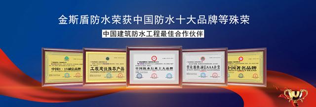 金斯盾荣获防水十大品牌.jpg